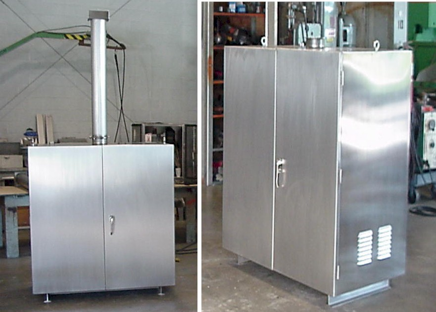 Stainless Steel Battery Boxes