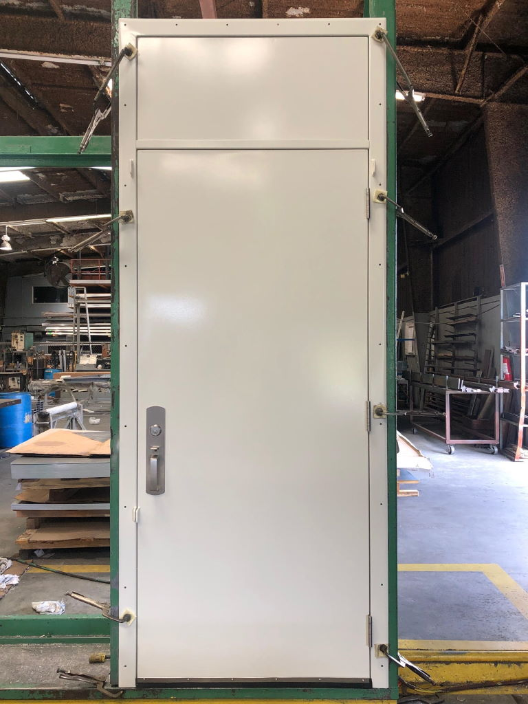 3-0 x 8-6 Galvanized Steel Joiner Door with Removable Transom