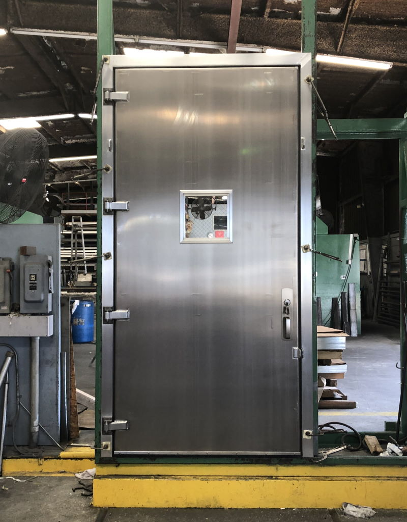 4-0 x 8-6 OS Aluminum Container Door 1