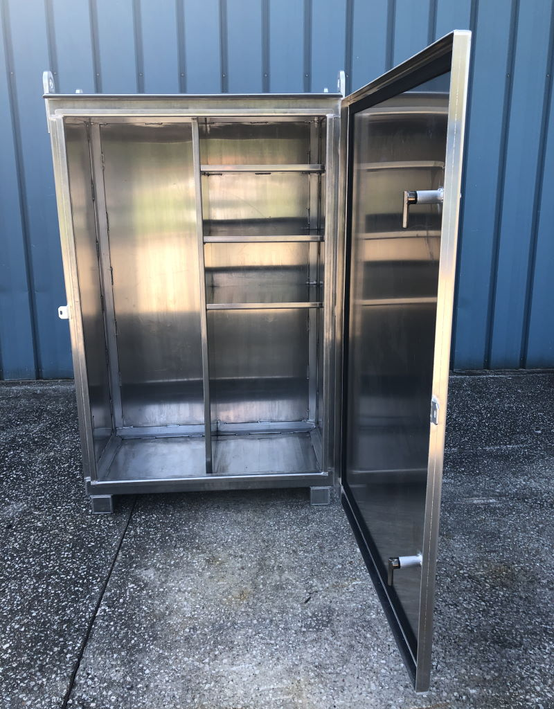 Aluminum Storage Box for Offshore Use 1