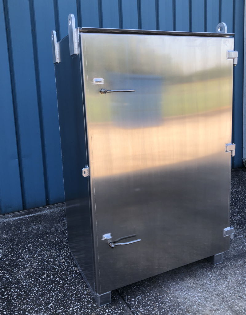 Aluminum Storage Box for Offshore Use 2