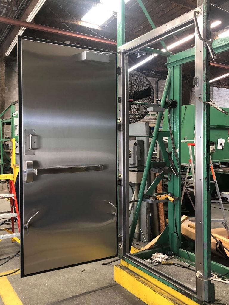 3-5x7-7 Stainless Steel Container Door