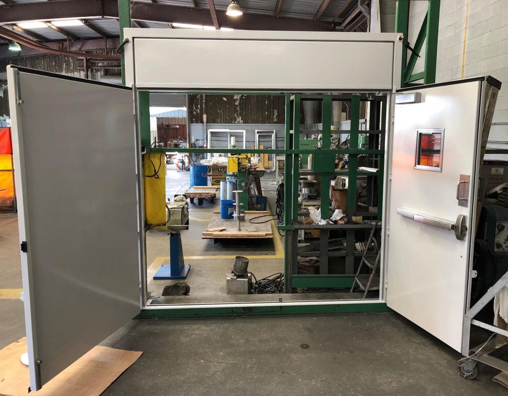 8-0 x 8-6 Alum Container Double Doors