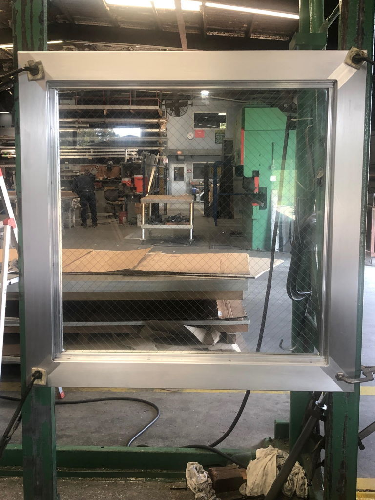 "3'-0"" x 3'-0"" Aluminum Fixed Window"