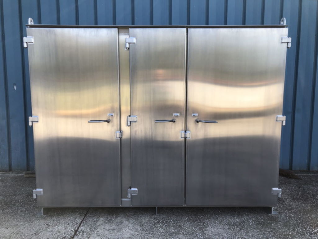 Photo of Large aluminum storage cabinet